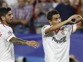 Le FC Séville est taquin avec les 'Reds'. EFE