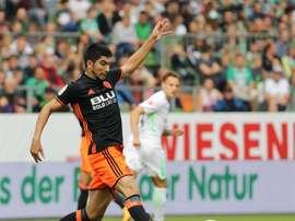 En Italie, le formé à Valence plairait à l'Inter. EFE