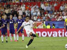 El Sevilla busca otra victoria ante el colista. EFE