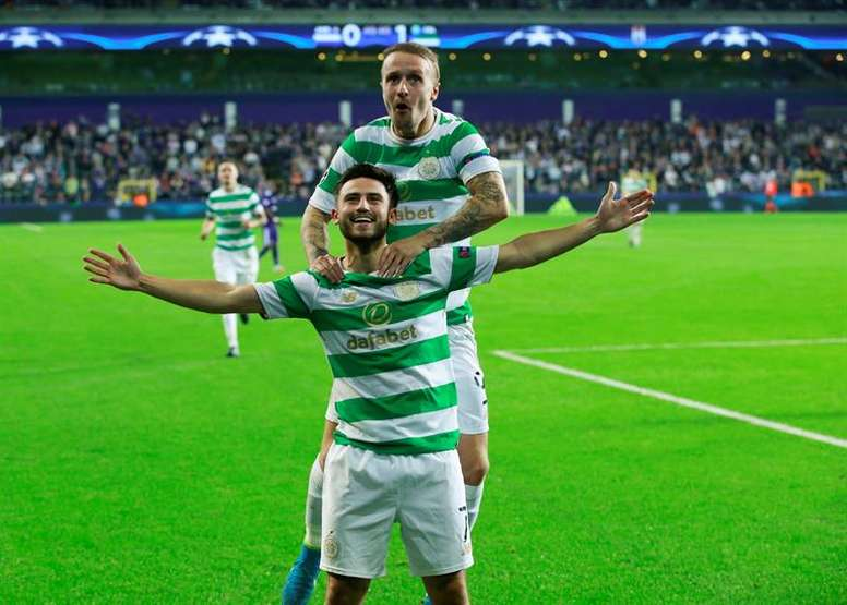 Roberts is on-loan at Celtic. EFE