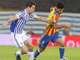 Guedes tem sido um dos grandes destaques do Valencia. EFE