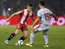 Muitos gols no Celta-Girona. EFE