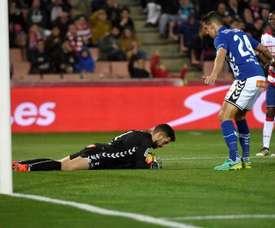 Fernando Pacheco fait des débuts de rêve. EFE