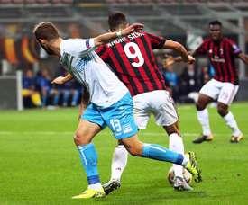André Silva decidiu frente ao Chievo. EFE/MATTEO BAZZI