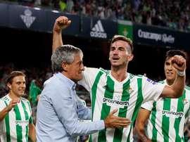 Setién se negó a que Fabián fichara por el Barcelona. EFE/Archivo