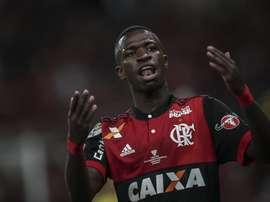 El Flamengo busca el triunfo. EFE