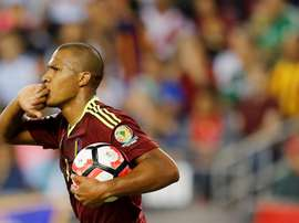 Salomon Rondon was on the scoresheet again for Venezuela. EFE