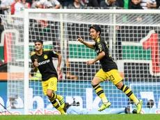 Kagawa anotó un auténtico golazo para el Borussia Dortmund. EFE