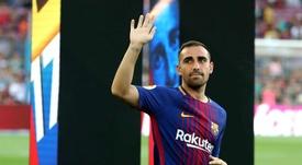 El delantero tiene los días contados en el Barcelona. EFE/Archivo