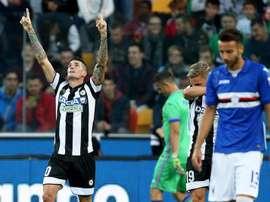 Antonio Conte prefere De Paul a Arturo Vidal. (Italia) EFE/EPA