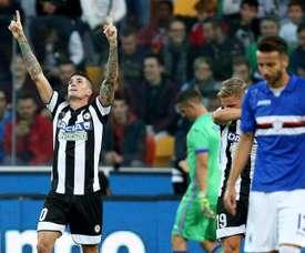 El Udinese ganó su partido de forma clara. EFE/Archivo