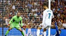 Ronaldo's outrageous strike vs Espanyol. EFE