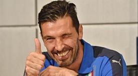 Buffon elogiou Pogba. EFE