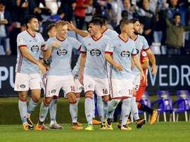El conjunto gallego remontó el partido en seis minutos. EFE/Archivo