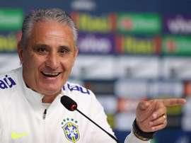 Tite convoca a seleção brasileira no dia 14 de maio. EFE