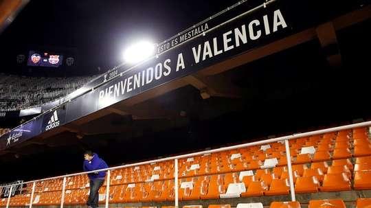 The Mestalla will host. EFE