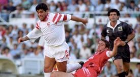 Maradona, en el recuerdo de Koeman. EFE