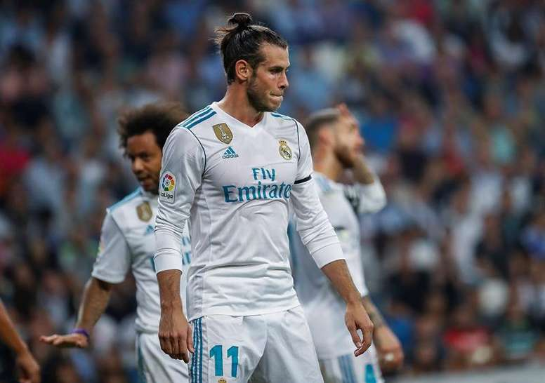Bale is expected to be out for around a month. EFE/Archivo