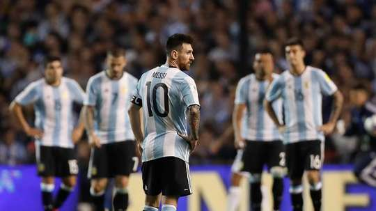 Argentina have not guaranteed a place in Russia. EFE