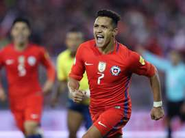 Alexis marcó un gol agónico para salvar a Chile. EFE