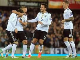 L'Allemagne reçoit l'Azerbaïdjan à domicile pour un match prévu à 20h45. EFE