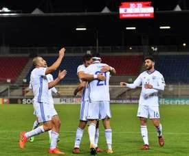 Israel venció por 2-0 a Albania. EFE/Archivo