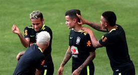 Dani Alves y Neymar mantienen una gran amistad. EFE