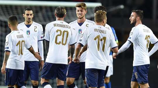 Italy drew 1-1 with Macedonia on Friday. AFP