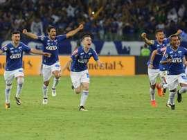 Cruzeiro venció por 2-1 a Ponte Preta en la jornada 28. EFE/Archivo