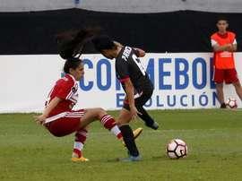 River Plate y Unión Española empataron a uno. EFE
