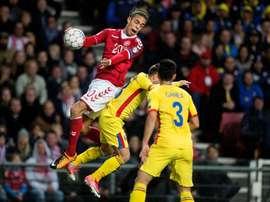 Dinamarca empató con Rumanía y perdió sus opciones de ser primera. EFE