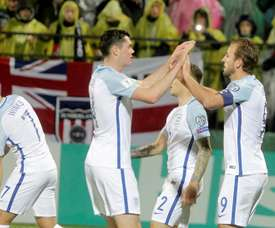 England beat Lithuania 1-0 on Sunday evening. AFP
