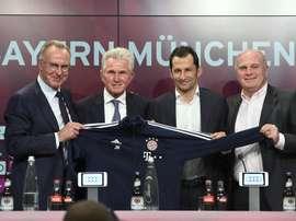Le Bayern a trouvé un partenariat aux States. EFE