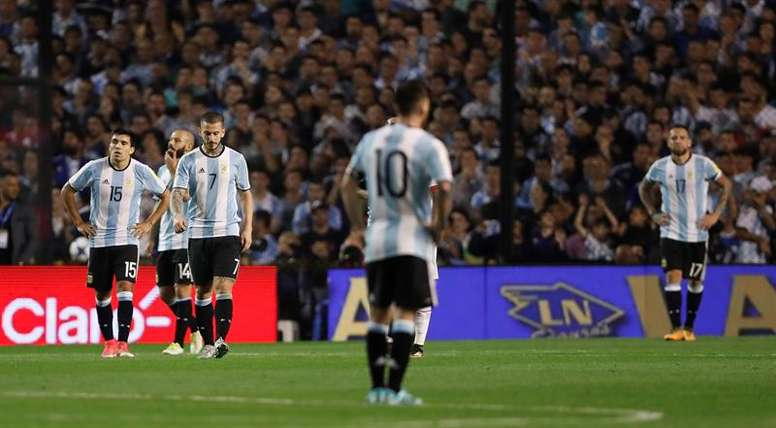Argentina, sin margen de error en Quito. EFE