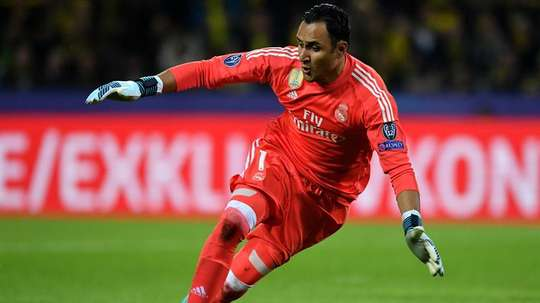 Real keeper Navas suffers groin injury. EFE