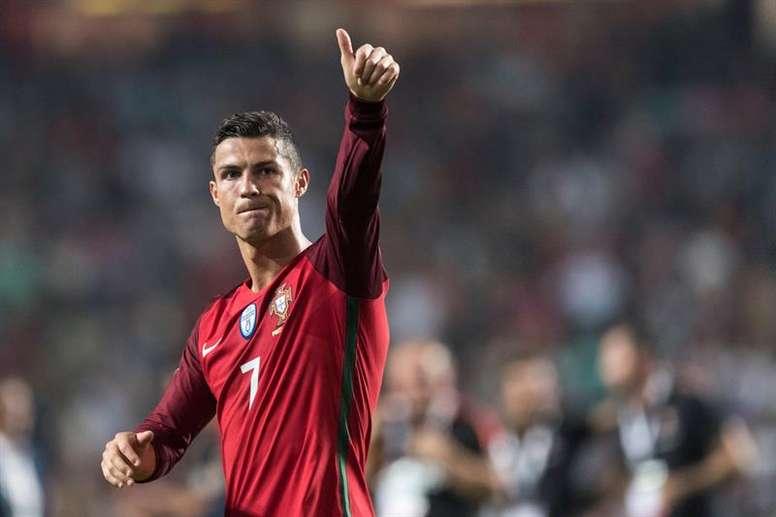 Cristiano Ronaldo denies he is not doing well. EFE