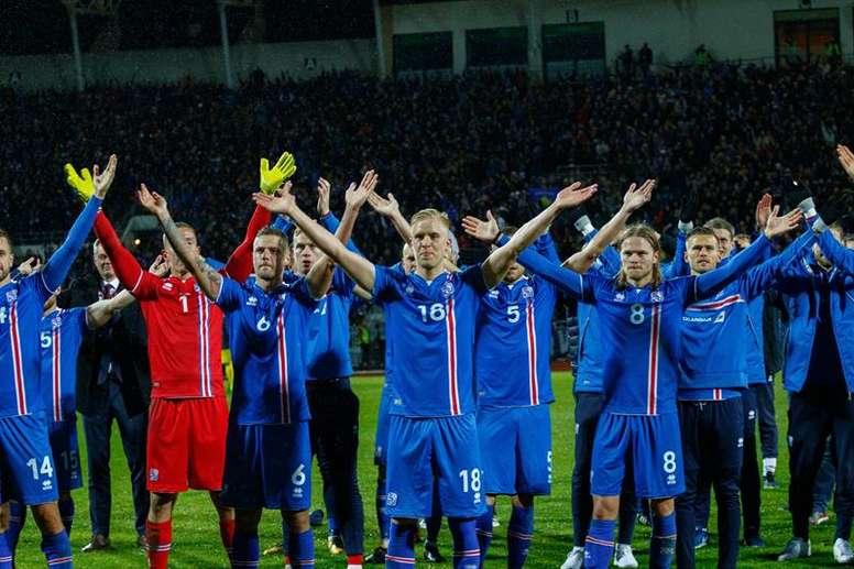 A Islândia surpreendeu todos com a sua qualificação para o Mundial. EFE