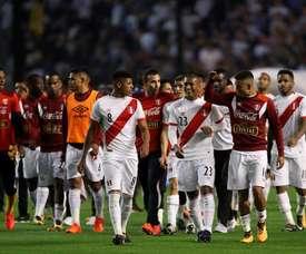 Os peruanos podem perder a sua última chance de estar presentes na Copa do Mundo'2018. EFE