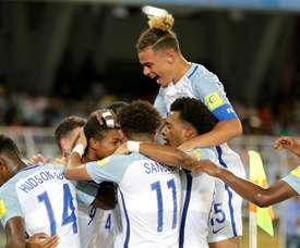Inglaterra ya está en semifinales del Mundial Sub 17. EFE