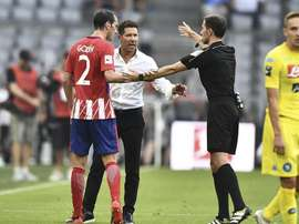 Godín is leaving Atleti at the end of the season. EFE