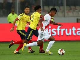 El Perú-Colombia sigue dando de qué hablar. EFE