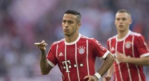O Liverpool já teria um acordo com Thiago. EFE/EPA