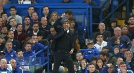 Antonio Conte estaría muy cerca de convertirse en el nuevo entrenador del Milan. EFE/EPA/Archivo