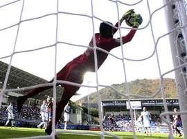 Francis, debutante con el Deportivo y con Nigeria en un Mundial. EFE