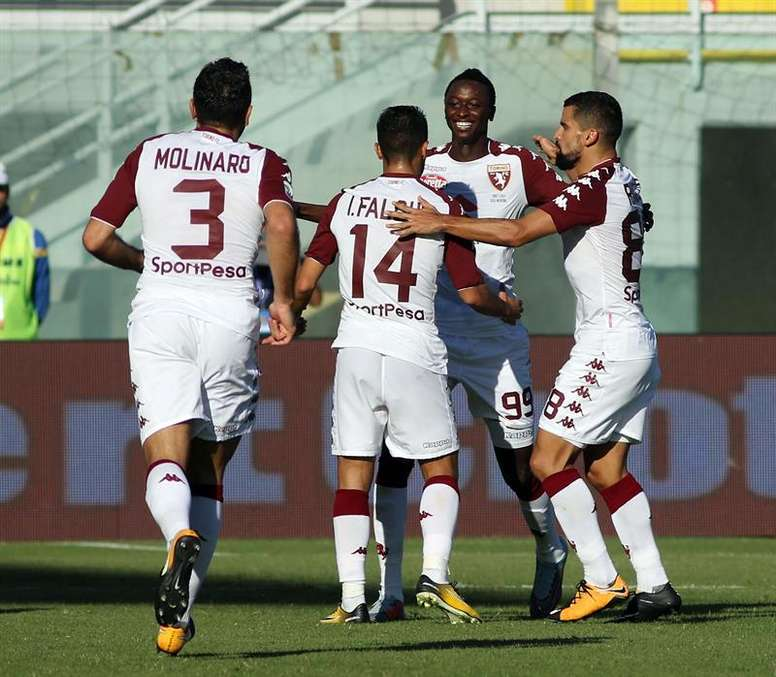 Simone Edera ha despertado el interés del Torino. EFE/EPA