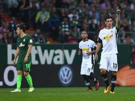 El Borussia Mönchengladbach ganó por 0-2 ante el Werder Bremen. EFE