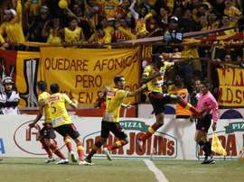 Herediano, líder del campeonato costarricense. EFE/Archivo