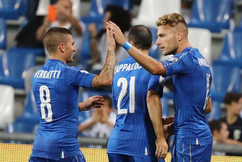 Italia tendrá un rival asequible en la repesca. EFE