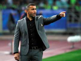 Gurban Gurbanov, manager of Qarabag. EFE