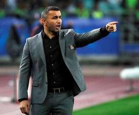 Técnico do Qarabag elogia equipe do Sevilla. EFE/Arquivo